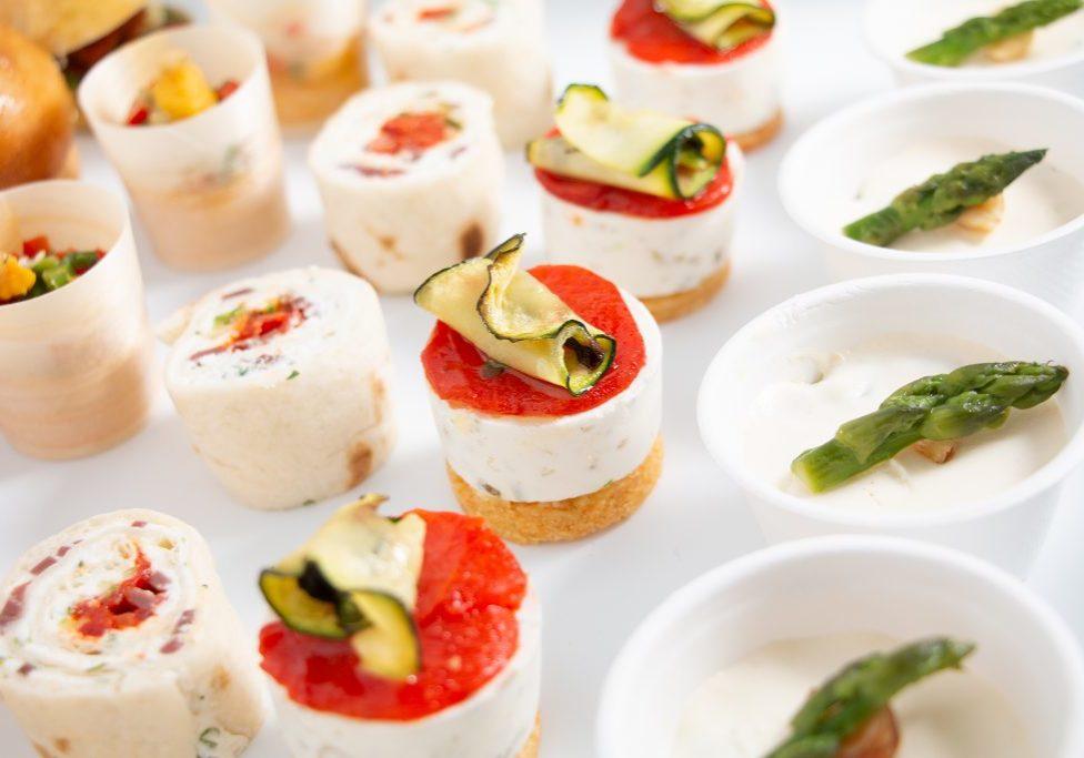 Box buffet végétarien pour apéro dinatoire à La Rochelle